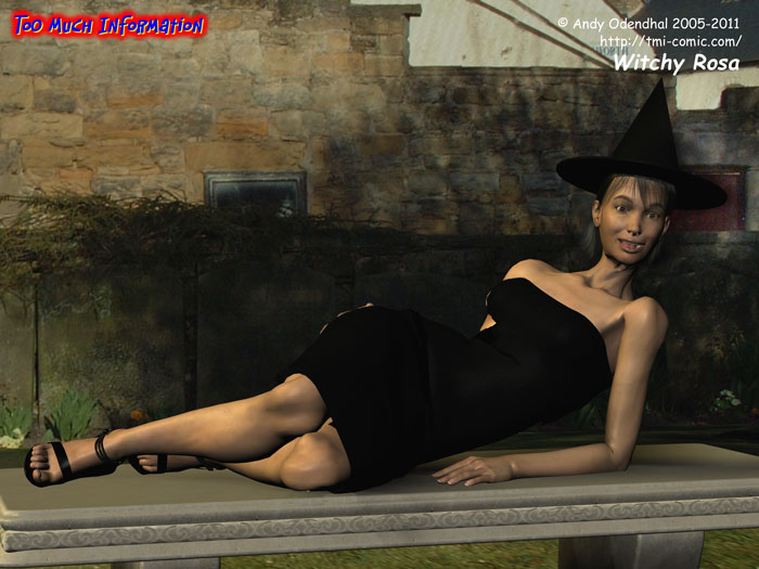Witchy Rosa