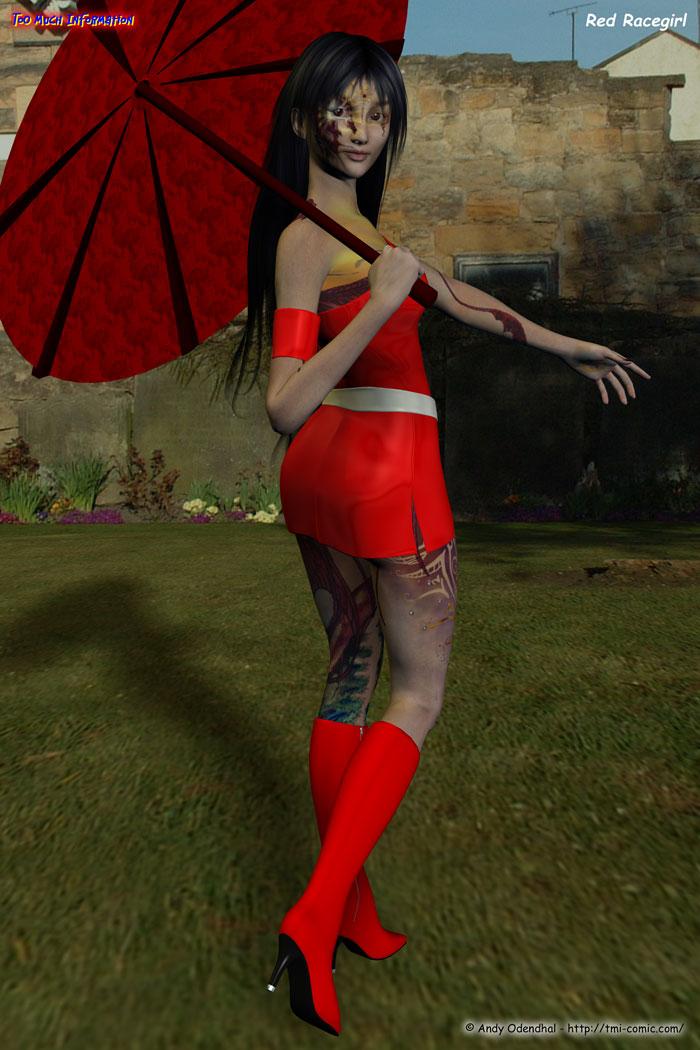 Red Racegirl