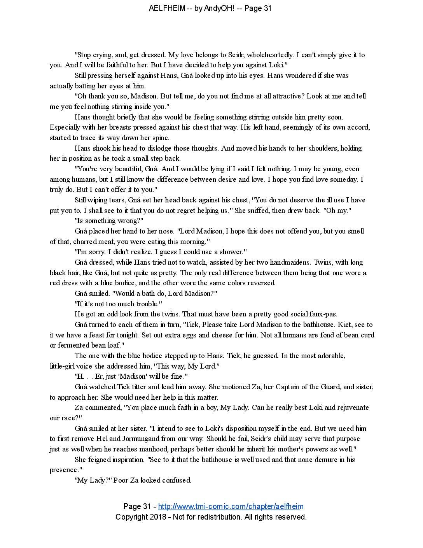 Aelfheim – page 31